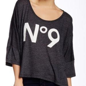Wildfox No. 9 Oversized T Shirt